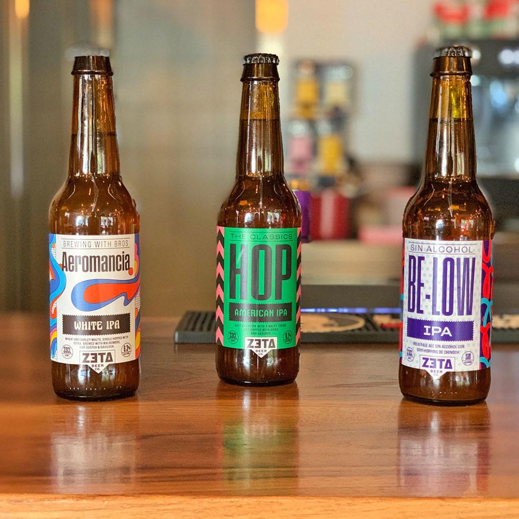 Cervezas artesanas Spoiler Bar Madrid