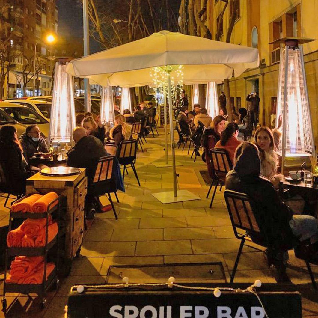 terraza spoiler bar Madrid