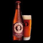 cerveza artesana jamonera marca La Virgen