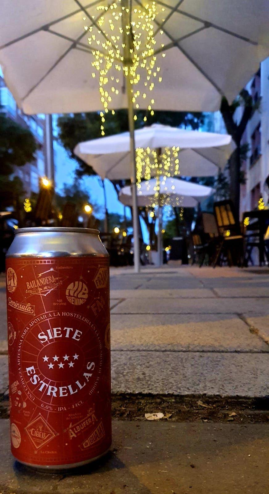 cerveza artesana 7 estrellas comunidad de Madrid
