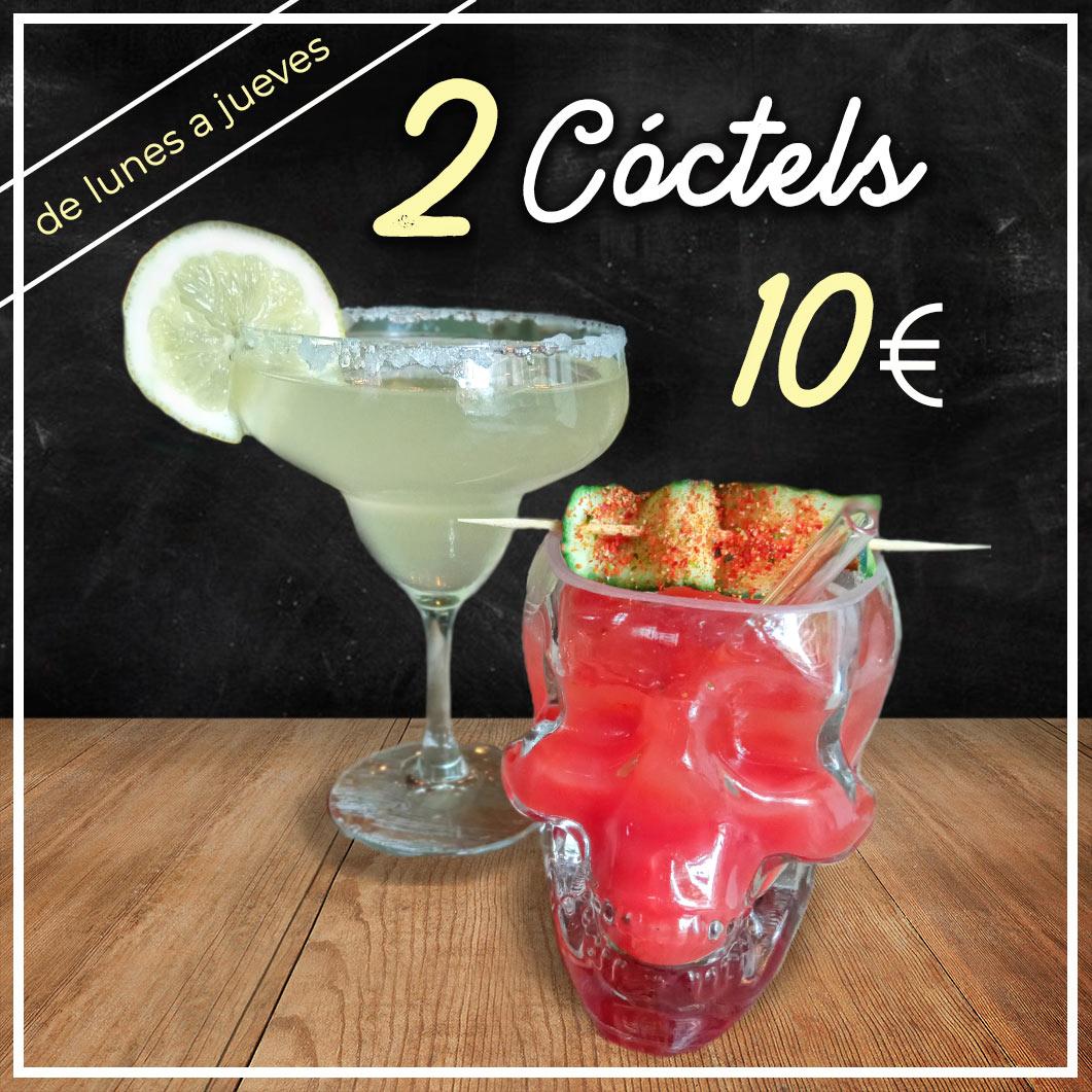 Promoción Spoiler Bar Madrid 2 Mojitos 10 euros